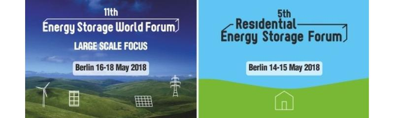 The 11th Energy Storage World Forum & 5th Residential Energy Storage Forum