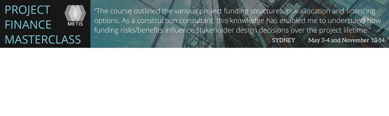 Project Finance Masterclass