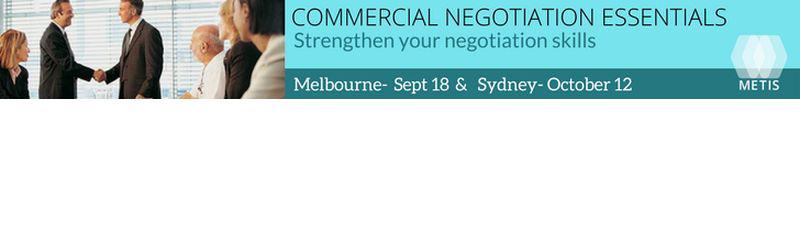 Commercial Negotiation Essentials