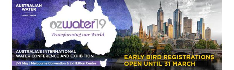 Ozwater'19 Conference & Trade Exhibition